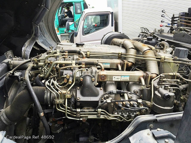 2005 Sep Used MITSUBISHI FUSO SUPER GREAT PJ FU50JUZ Engine
