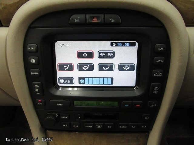 2003jul Used Jaguar X Type Ghj51xa Ref No52447 Japanese Rhorigincardealpage: 2003 Jaguar X Type Radio At Elf-jo.com