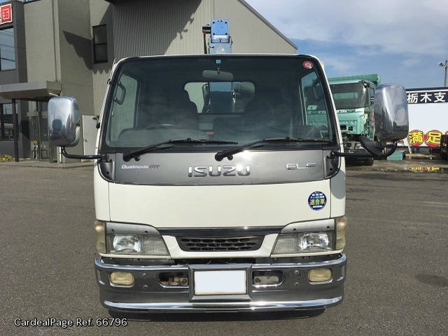 2002/Nov Used ISUZU ELF NKR-NKR81LR Engine Type 4HL1 Ref No:66796