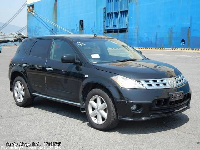 2007 mar used nissan murano cba tz50 engine type qr25 ref. Black Bedroom Furniture Sets. Home Design Ideas