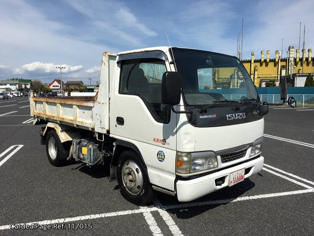 2002/Dec Used ISUZU ELF NKR-NKR81ED Engine Type 4HL1 Ref No:17117015