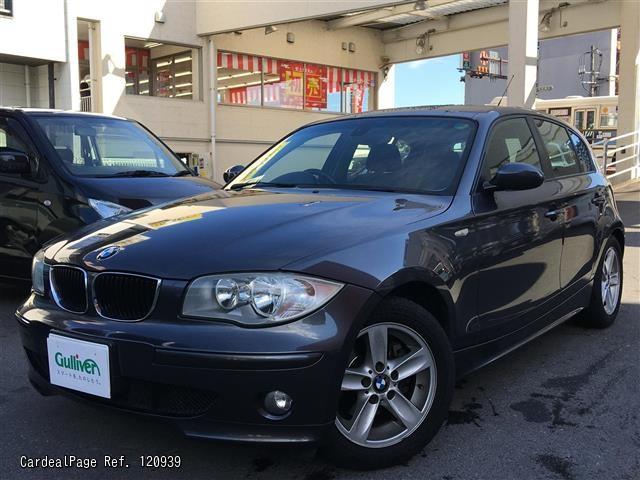 2005/Feb Used BMW 120I GH-UF20 Ref No:17120939 - Japanese Used Cars ...