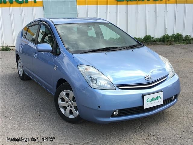 2009 jan used toyota prius daa nhw20 ref no 17121137 japanese used cars for sale cardealpage. Black Bedroom Furniture Sets. Home Design Ideas