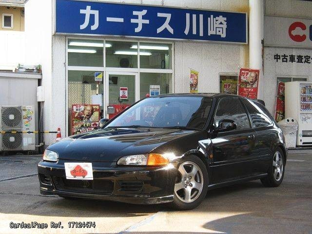 1993 nov used honda civic e eg6 ref no 17124474 japanese used cars for sale cardealpage. Black Bedroom Furniture Sets. Home Design Ideas