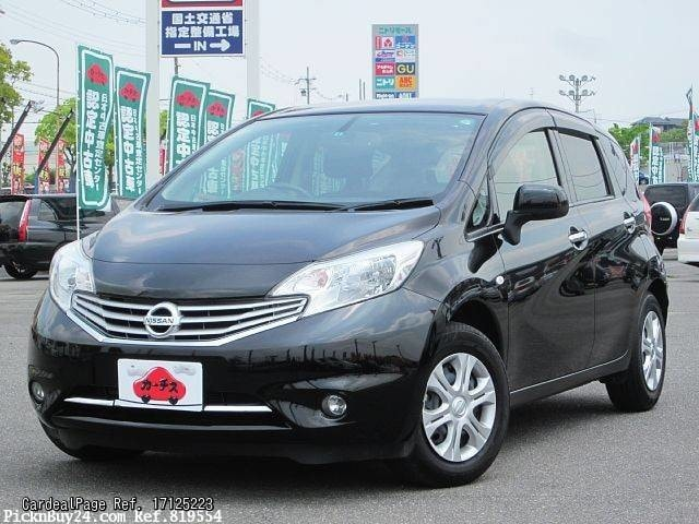 2014 may used nissan note dba e12 ref no 17125223. Black Bedroom Furniture Sets. Home Design Ideas