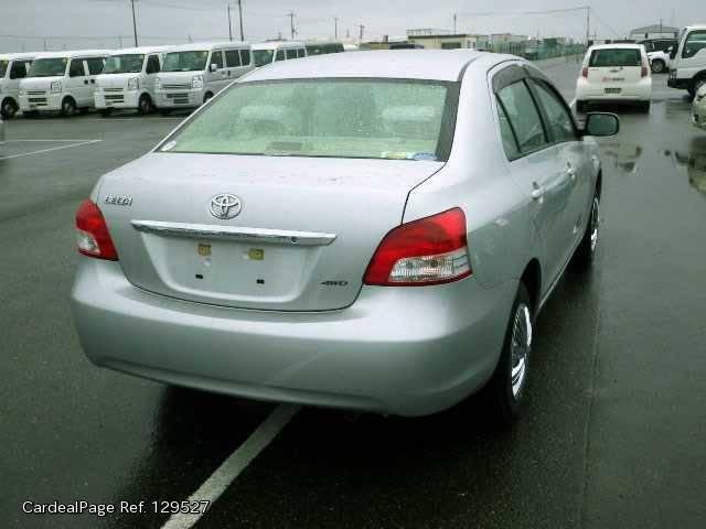 2008 Jun Used Toyota Belta Dba Ncp96 Engine Type 2nz Ref No 129527