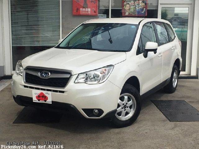 2014 mar used subaru forester dba sj5 ref no 17133193 japanese used cars for sale cardealpage. Black Bedroom Furniture Sets. Home Design Ideas