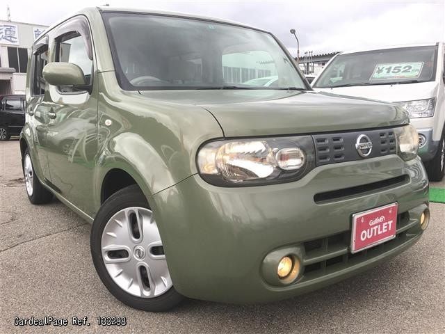 2009 may used nissan cube dba nz12 ref no 17133298. Black Bedroom Furniture Sets. Home Design Ideas