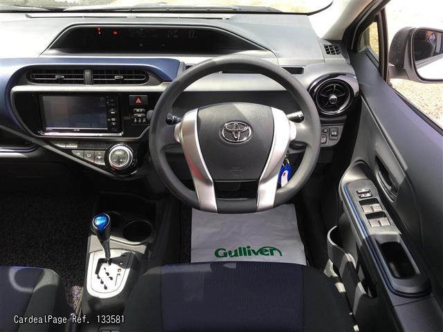 2017 May Used Toyota Aqua Daa Nhp10 Ref No 17133581 Japanese Used