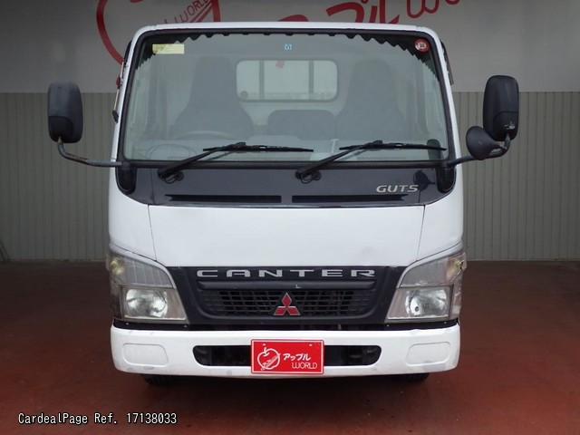 2003/Nov Used MITSUBISHI CANTER KG-FB70AB Engine Type 4M40 Ref No