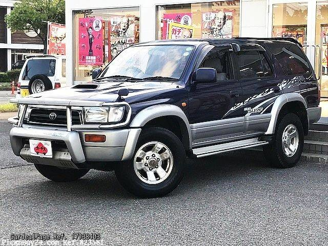 1997 jul used toyota hilux surf 4runner kd kzn185w ref. Black Bedroom Furniture Sets. Home Design Ideas