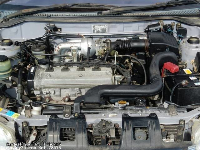 1998 Jul Used Toyota Starlet E Ep91 Engine Type 4e Ref No