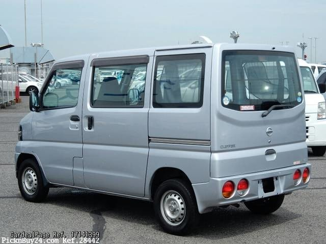 2007 Jun Used Nissan Clipper Van Gbd U71v Engine Type 3g83 Ref No