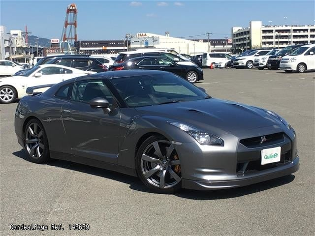 2007 dec used nissan gt r cba r35 ref no 17145659 japanese used cars for sale cardealpage. Black Bedroom Furniture Sets. Home Design Ideas