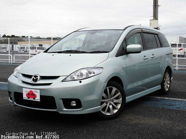 2005 jun used mazda premacy mazda5 dba crew ref no. Black Bedroom Furniture Sets. Home Design Ideas