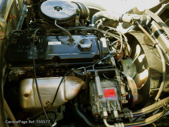 1998/Jul Used MITSUBISHI CANTER GUTS GB-FA510B Engine Type 4G63 Ref