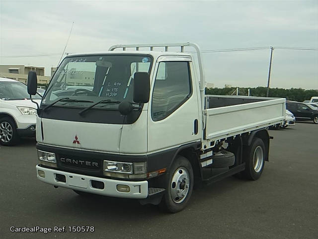 2001/Nov Used MITSUBISHI CANTER KK-FE53EB Engine Type 4M51