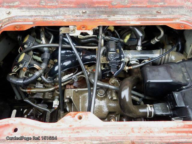 2003/Oct Used DAIHATSU HIJET TRUCK TE-S200P Engine Type EF
