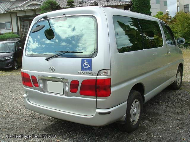 1999/Nov Used TOYOTA GRANVIA KH-KCH16W Engine Type 1KZ Ref