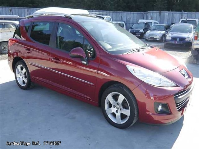2011/Apr Used PEUGEOT 207 A7W5F01 Ref No:161857 - Japanese Used Cars ...