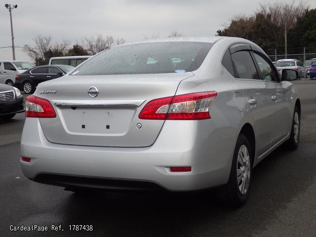 2014 Jan Used Nissan Sylphy Dba Tb17 Ref No 87438