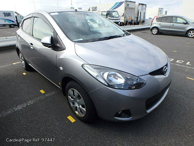 2010/Jun Used MAZDA DEMIO (MAZDA2) DBA-DE3FS Engine Type ZJ Ref No:97447 - Japanese Used Cars ...