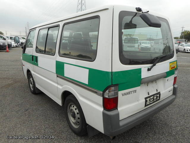 d7e8a05ad3 2008 Mar Used NISSAN VANETTE VAN ADF-SKF2VN Ref No 02934 - Japanese ...