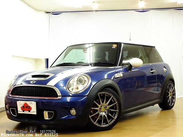 2007 nov used bmw mini aba mf16s ref no 177526 japanese used cars for sale cardealpage. Black Bedroom Furniture Sets. Home Design Ideas