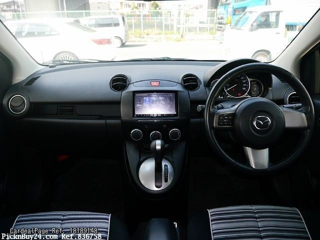 2013/Mar Used MAZDA DEMIO (MAZDA2) DBA-DEJFS Ref No:189148 - Japanese Used Cars for Sale ...