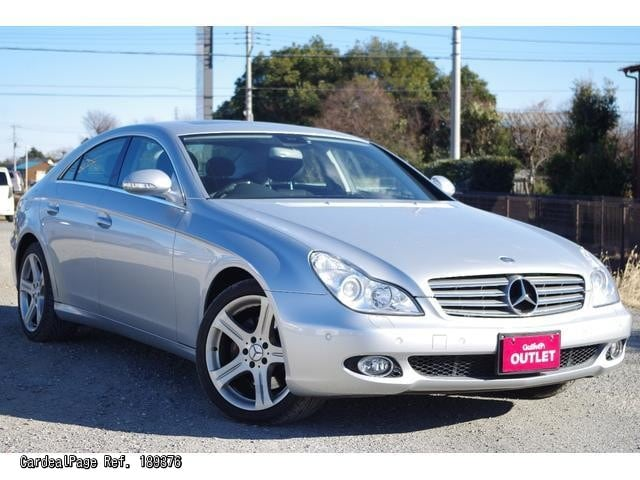 2005 jun used mercedes benz cls class cba 219375 ref no 189376 japanese used cars for sale. Black Bedroom Furniture Sets. Home Design Ideas