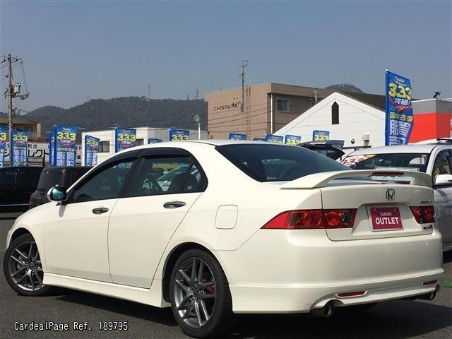 2008 Feb Used Honda Accord Aba Cl7 Ref No 189795 Japanese Used