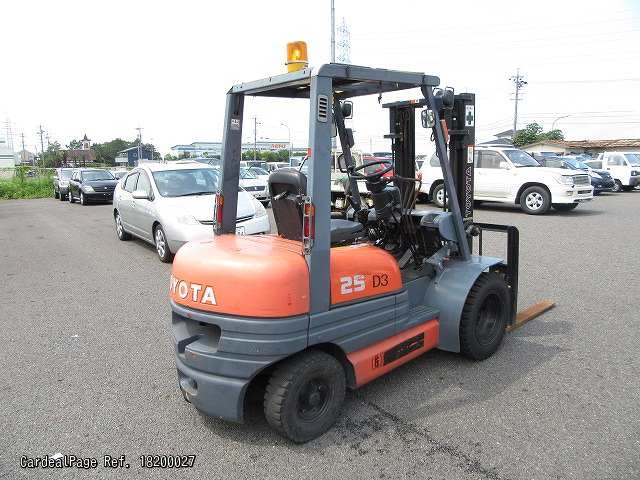 Used TOYOTA FORKLIFT 6FG25 Ref No:18200027 - Japanese Used