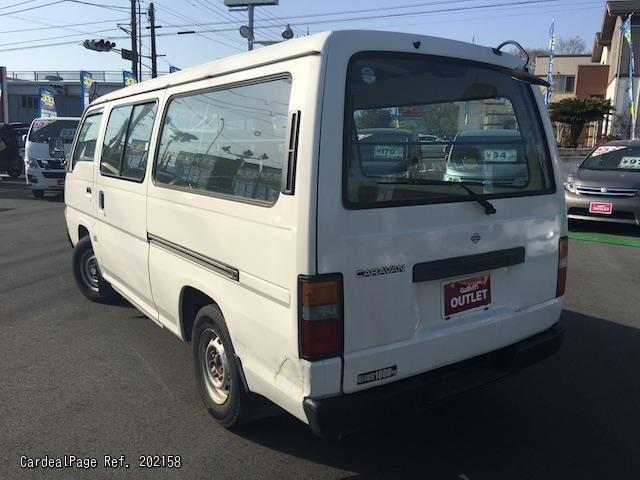 1998 Oct Used Nissan Caravan Van Urvan Kg Vwge24 Ref No 202158