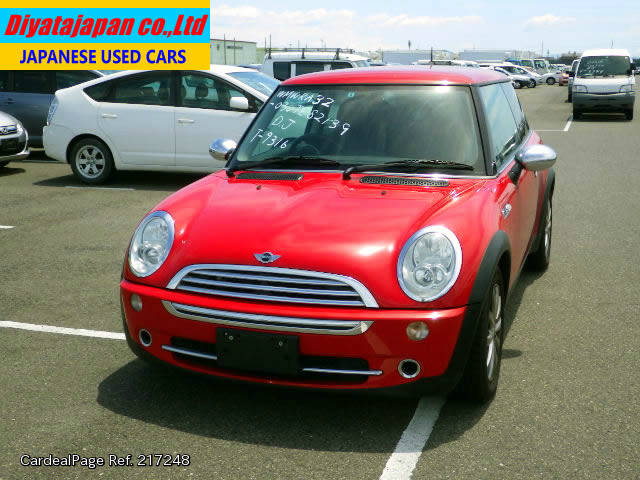 2005 sep used bmw mini gh ra16 engine type w10b16a ref no. Black Bedroom Furniture Sets. Home Design Ideas