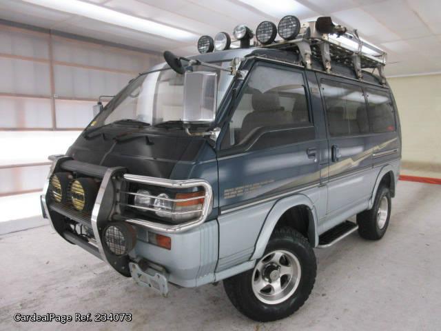1993/Jul Used MITSUBISHI DELICA STAR WAGON Q-P35W Engine