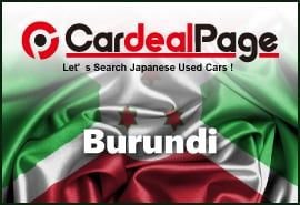Japanese Used Cars for Burundi