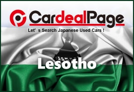 Japanese Used Cars for Lesoto