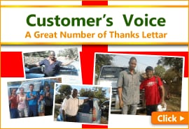 Customer's Voice A Great Number of Thanks Letter